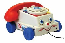 RETRO ORIGINAL CHATTER TELEPHONE FISHER PRICE CLASSIC TOYS BRAND NEW IN BOX 12M+