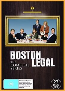 BRAND NEW Boston Legal The Complete Collection Series Season 1 2 3 4 5 DVD Set