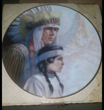 10 Gregory Perillo Indian Collector Plates