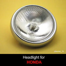 Honda XL125 XL175 XL250 XL350 Dual Sport MT125 Elsinore Headlight + Rim Ring