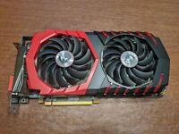 MSI AMD Radeon RX 480 (RX 480 GAMING 4G) 4GB GDDR5 PCI Express 3.0 Graphics Card