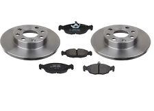 Bremsscheiben Scheiben + Bremsbeläge massiv vorne Opel Astra F CC