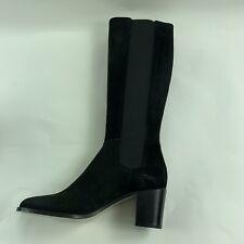 Hobbs Lilie Womens Black Suede Long Winter Boots Shoes MRSP $435 Choose Size