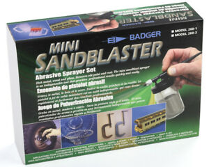 Badger B2224 Brosse à Air Abrasif Sableuse 260 Modélisme