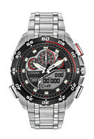 Citizen Eco-Drive Promaster Men's World Time Chronograph 44mm Watch JW0111-55E