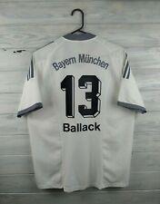 Ballack Bayern Munich jersey kids XL adult small 2002 2004 away shirt Adidas