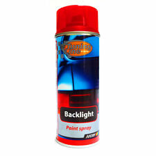 400ml Red Back Light Spray Paint Lacquer Car Lights Tuning Tail Lens Smoke DIY