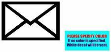"Text or e-mail symbol Vinyl decal sticker Car Truck Window Laptop Die Cut 7"""
