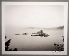 BONNIERE,16X20 SILVER GELATIN PHOTOGRAPH,S/N, DIAMOND LAKE ISLAND, CANADA