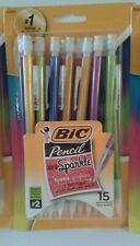 NEW BIC Xtra Sparkle 0.7mm #2 Mechanical Pencils ~ Pack contains 15 pencils