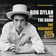 "Bob Dylan and The Band : The Basement Tapes: Raw VINYL 12"" Album with CD 5"