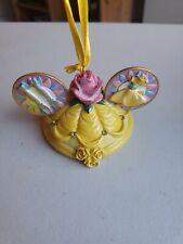 Disney Ear Hat Christmas Ornament Princess Belle Beauty and the Beast