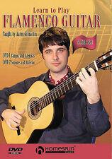 Learn To Play Flamenco Guitar Spanish Tangos Soleares Lesson DVD x 2 Tutor Songs