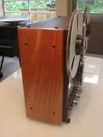NEW CUSTOM Solid Wood Side Panels Reel Recorder Studer Technics Otari