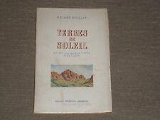 TERRES DE SOLEIL  R. Dissler - visions d'algérie, de tunisie et de corse OBERLIN