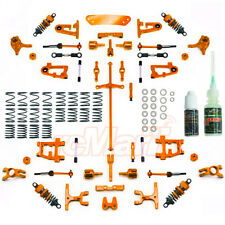 Yeah Racing Alu. Conversion Kit Ultimate Ver. Orange Tamiya TT-01 #CK-TT01/EV2OR