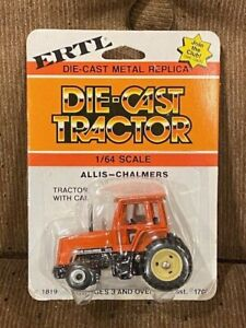 Vintage ERTL 1/64 Allis Chalmers 8070 tractor