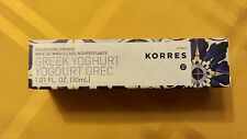 KORRES GREEK YOGHURT NOURISHING PRIMER 1.01 oz New In Box