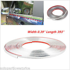 "393"" Car Bumper Door Edge Guard Anti-Scratch Protector Moulding Trim Deco Strip"