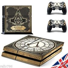 Assassin creed PS4 autocollant Playstation decal skin wrap cover console contrôleur