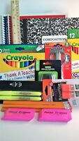 Back to School Supplies Bundle Kindergarten-Eighth Grade Priority Shipping NEW