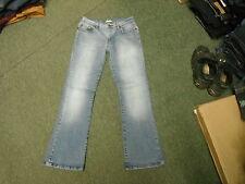 "George Bootcut Jeans Size 10 Leg 31"" Faded Medium Blue Ladies Jeans"