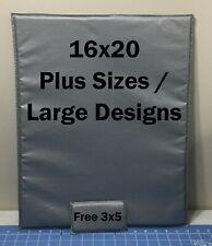 "16""x20"" Therma Flec / High Density Heat Press Pillow ~Superior Quality! W/Extra!"