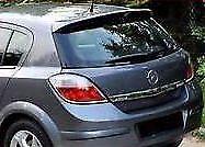 Vauxhall Astra H 5 door Hatchback Roof spoiler 2004 -2010 VARIOUS COLOURS.