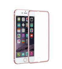 3D Full Cover Schutzglas AluTitan Rahmen tempered 9H für iPhone 6 6s 7 rose