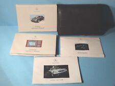 00 2000 Mercedes E Class/E320/E430/E55 AMG owners manual with Navigation