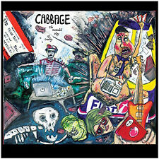 "Cabbage Extended Play of Cruelty 10"" Vinyl European BMG 2017 5 Track Limited"