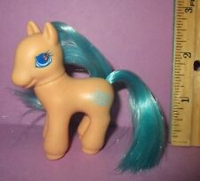 My Little Pony G2 Vintage Orange Baby Ocean Twin Brushable from Sailing Boat