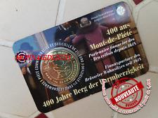 Coincard 2,50 Euro Belgique 2018 - 400 Ans Mont de Piété Version Française FR