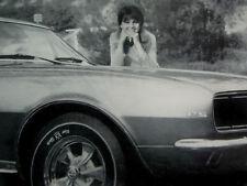 1967 CHEVY CAMARO KEYSTONE WHEEL AD-RS/SS/302/327/396 v8 engine/exhaust/headers