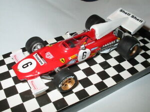 KIT ASSEMBLE F.1  FERRARI 312 B2  MERZARIO  BRITISH  GP    1972    # 1:43