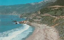 LAM(D) Big Sur, CA -  Scenic View from Hwy 1 of Coast Line in Mill Creek Area