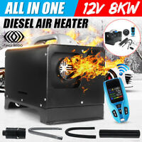 Diesel Air Heater 12V 8KW All in One Parking Heater For Car Truck Bus Trailer RV