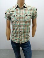 Camicia SCOTCH & SODA uomo taglia size S chemise maglia shirt man cotone P 5971
