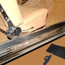 2x Gummi Belag Oldtimer Einstieg Schweller Trittbrett Trittleiste 120 x 12 cm