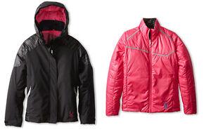 Spyder Girls Stunner Reversible 4-In-1 Reversible Jacket, Ski Jacket, Size 8,NWT