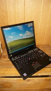 IBM Lenovo Thinkpad T43 2.13GHz, 2GB RAM, 60GB HDD, Serial RS 232 Parallel, Batt