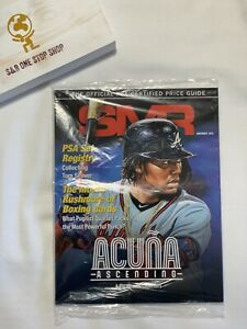 SMR The Official PSA Certified Price Guide - November 2020 - Ronald Acuna Jr