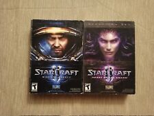 Starcraft 2 Wings of Liberty & Heart of the Swarm Expansion for Windows & Mac