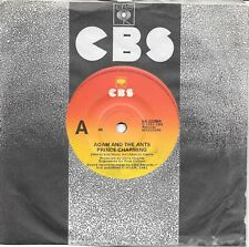 """ADAM AND THE ANTS - PRINCE CHARMING - 7"""" 45  VINYL RECORD - 1981"""