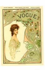 Vogue Magazine - 10th November 1904 - POSTCARD of Magazine Cover