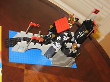 Vintage LEGO Wolfpack Tower Castle #6075 Complete Set Manual Minifigures 1990s