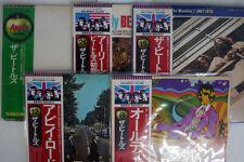 BEATLES Lot of 5 titles JAPAN OBI VINYL 7LP