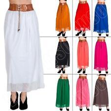 Unbranded Full Length Polyester Petite Skirts for Women