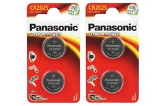 Panasonic  Lot de 4  piles lithium 3v CR2025