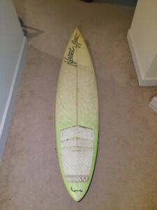 Vintage Early 90's Natural Art Surfboard RPD Mini Gun